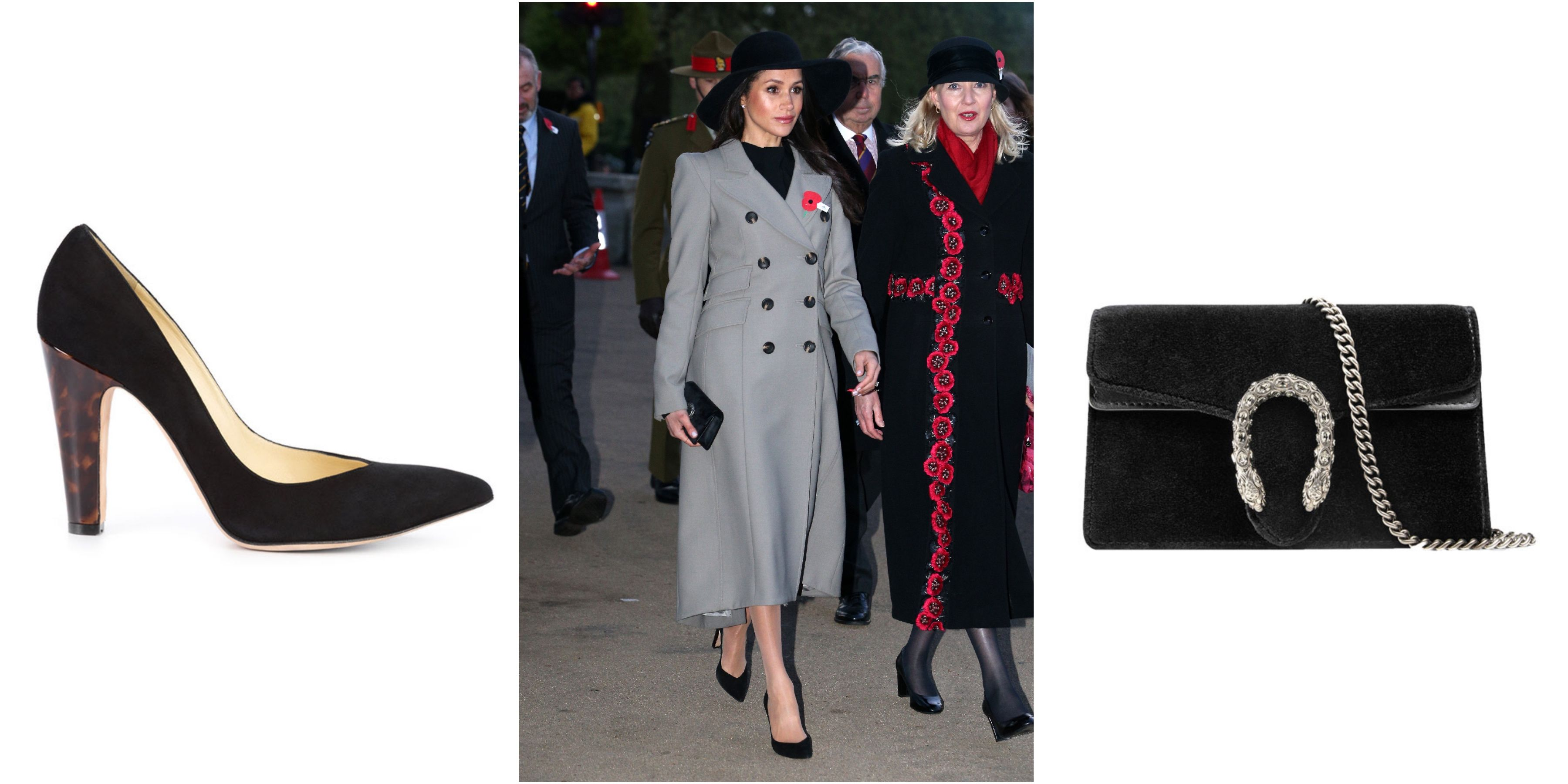Meghan Markle anzzac day outfit