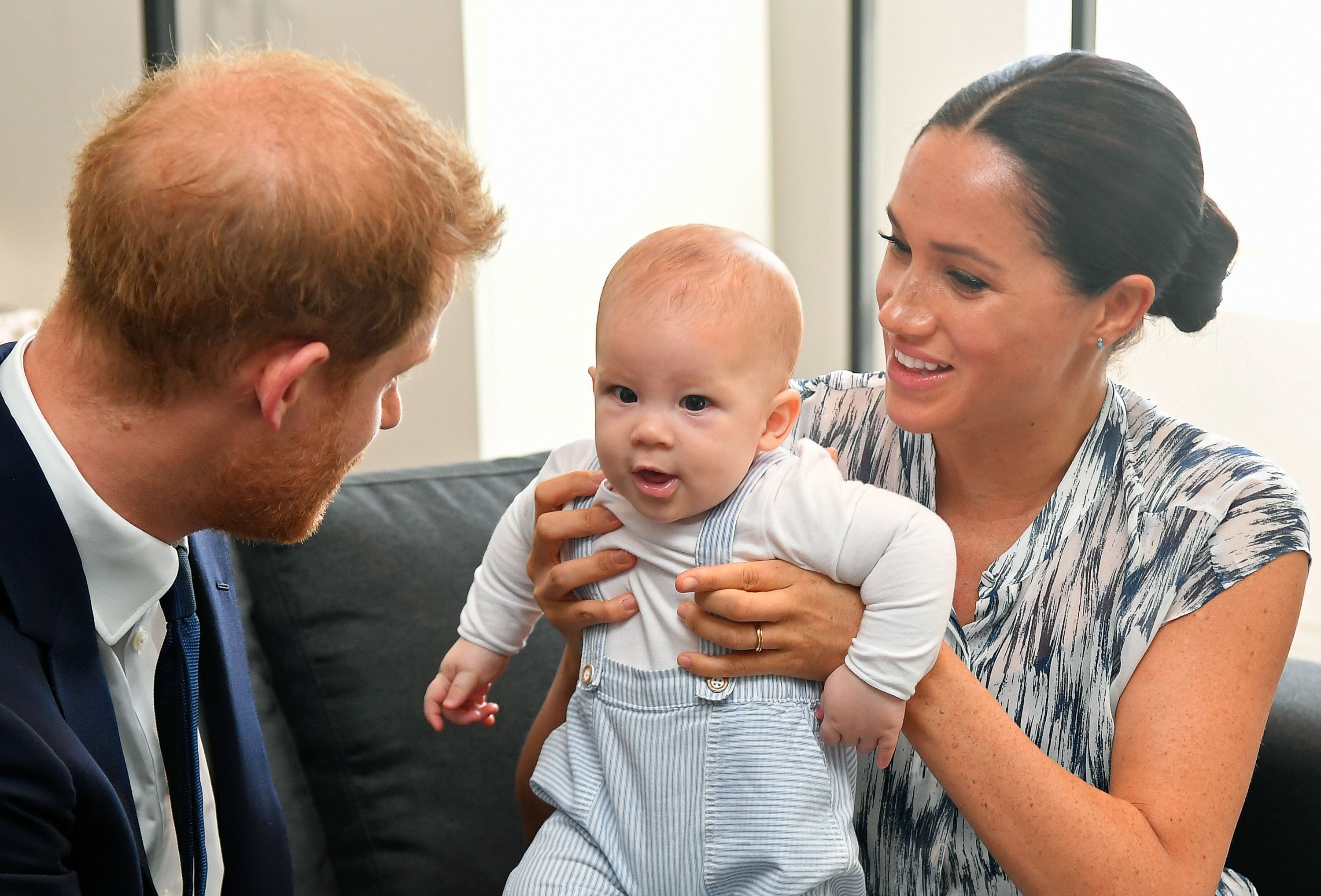 Prince Harry takes Archie to playgroup for the first time