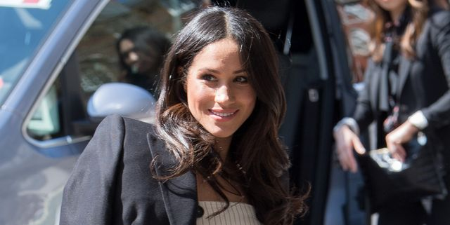 Meghan Markle Was Photographed Smiling in Canada in First Outing Since Announcement