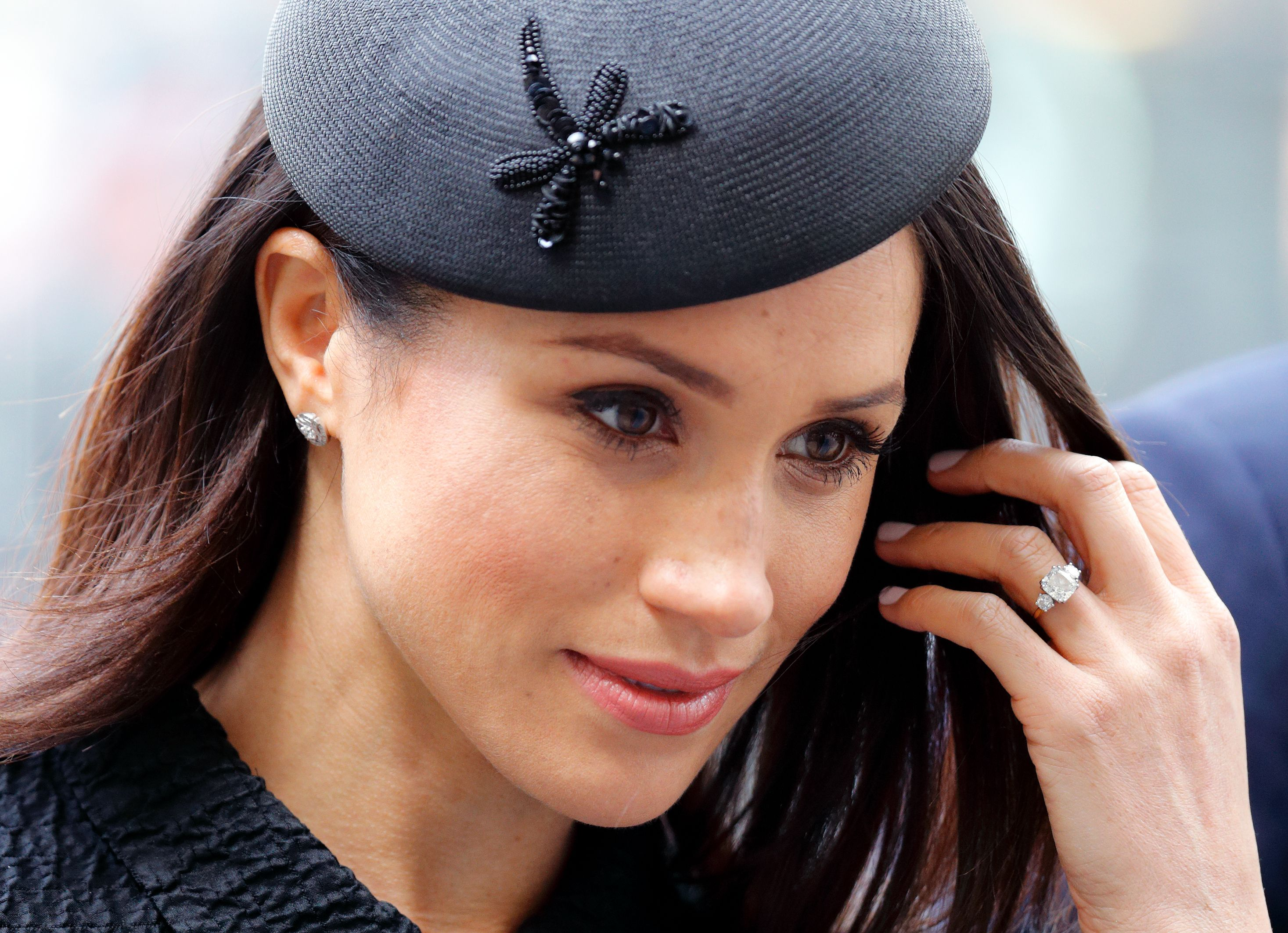 The Duchess of Sussex's engagement ring has had an upgrade