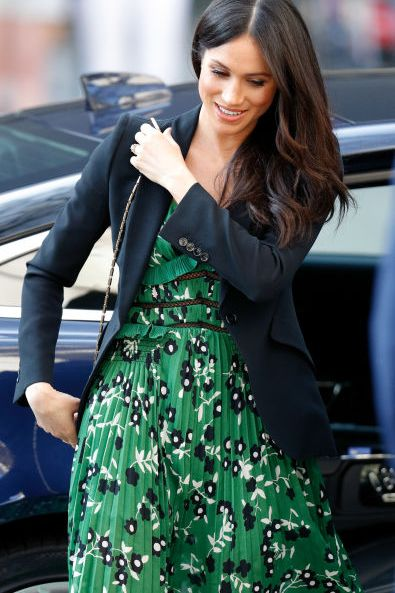 Meghan's Pretty Floral Moment