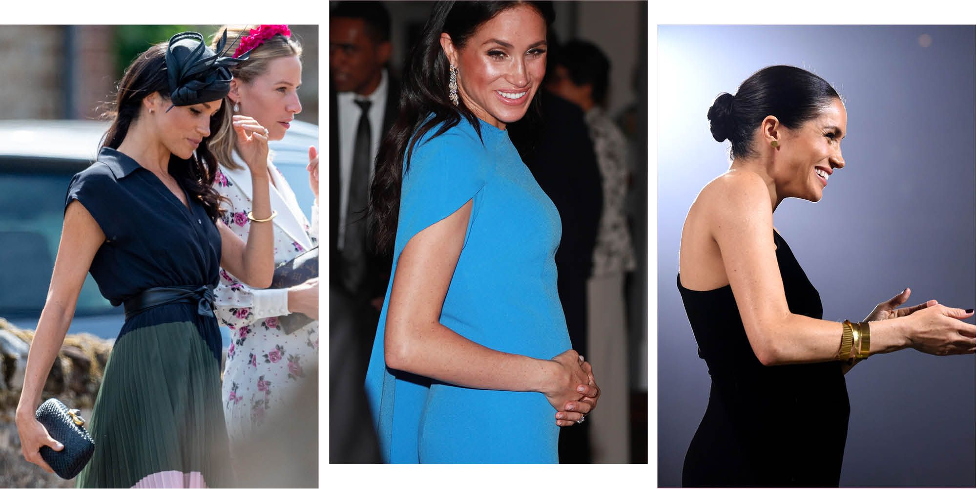 Meghan Markle's baby bump: see the Duchess' pregnancy in pictures month by month