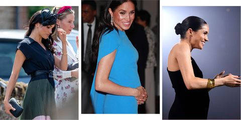fb6576c58eae Meghan Markle s baby bump  see the Duchess  pregnancy in pictures ...