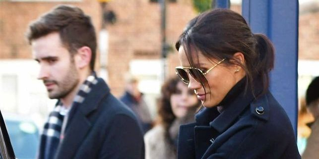 Meghan Markle Was Just Spotted at Lunch with Her New Communications Secretary
