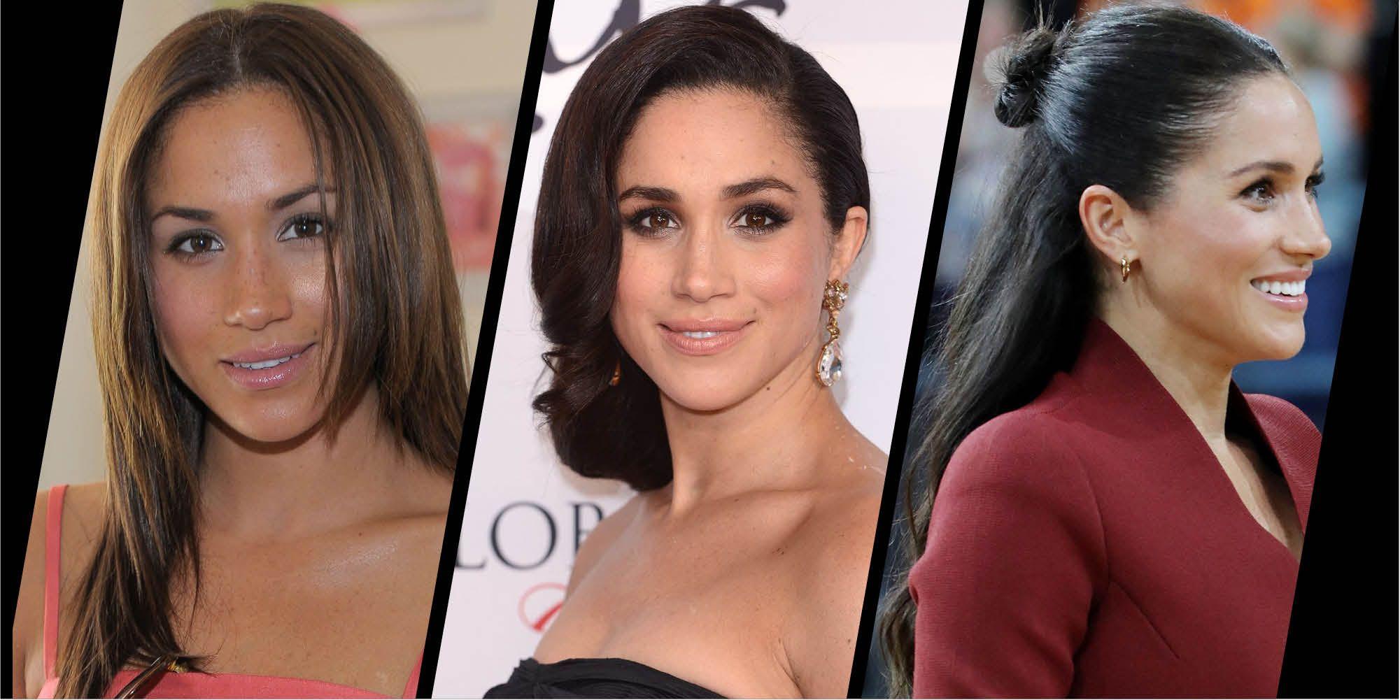 duchess of sussex s beauty looks meghan markle s hair and make up duchess of sussex s beauty looks