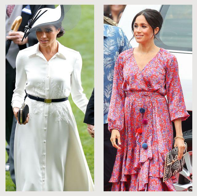 meghan markle best fashion style working royal