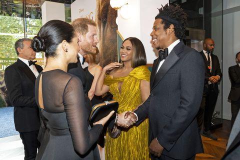 What Meghan Markle & Beyoncé talked about at The Lion King premiere