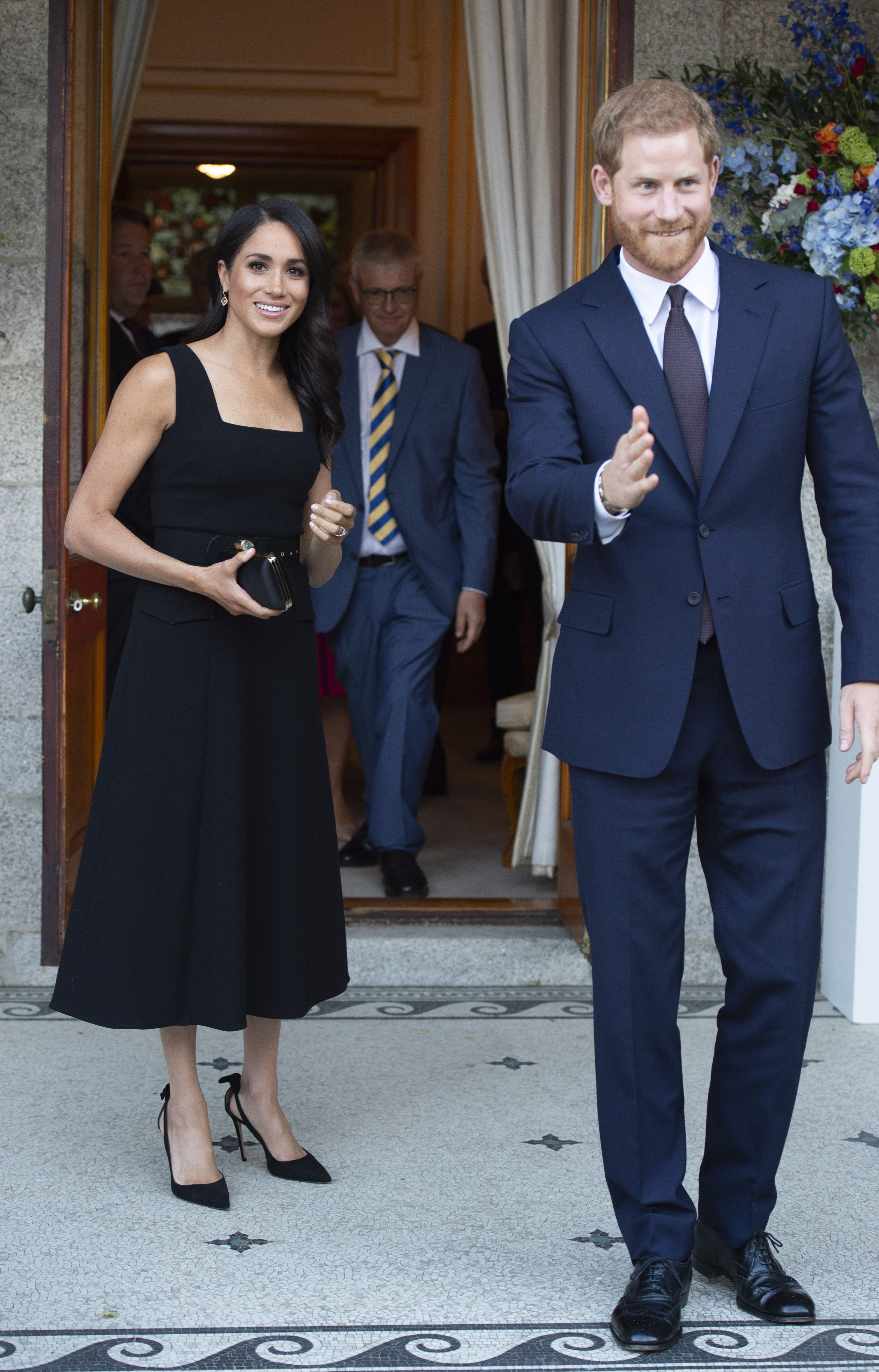 b1920f4b95 Why Meghan Markle s black dress was such a surprising choice