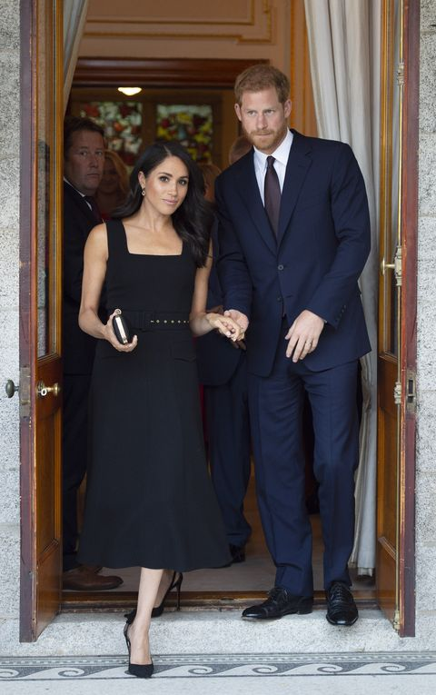 Why Meghan Markles Black Dress Was Such A Surprising Choice
