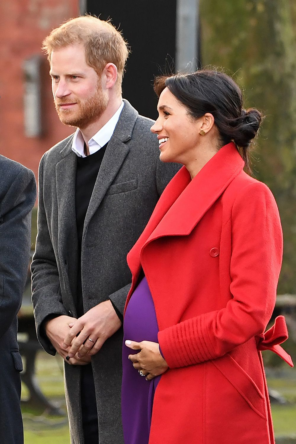 Meghan Markle's pregnancy in pictures