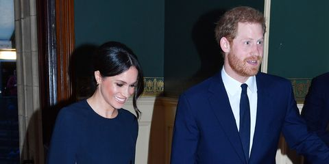 Meghan Markle Looks Stunning At The Queens Birthday Party In A Stella McCartney Cape Dress