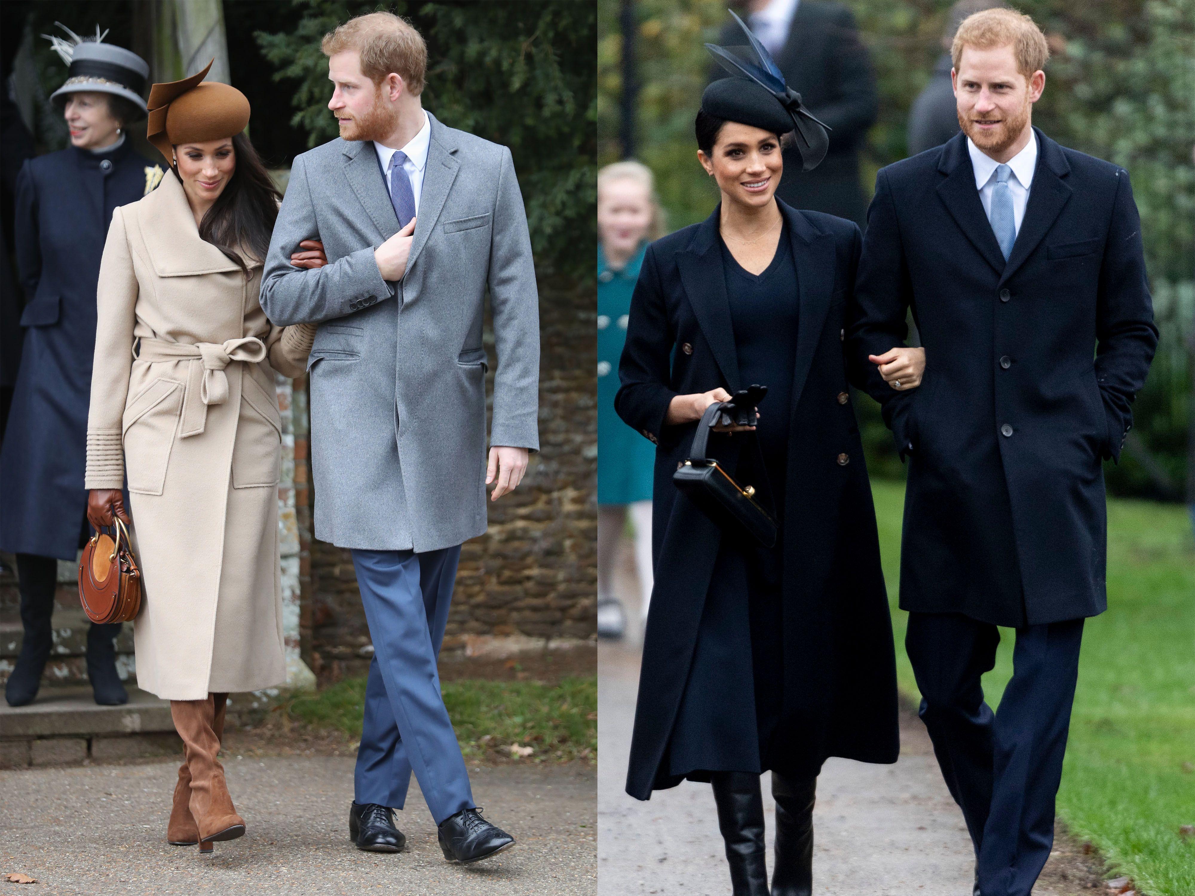 Meghan Markle Christmas.Meghan Markle S Body Language At The Royal Family Christmas