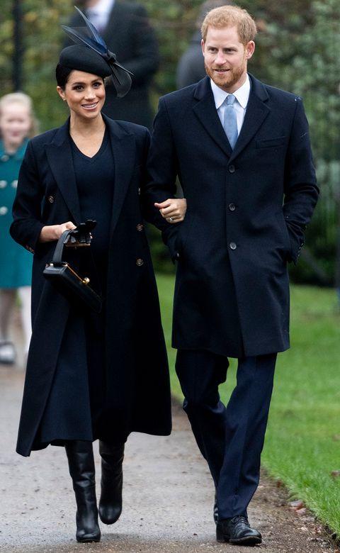 メーガン妃 ヘンリー王子 クリスマス ファッション