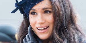 Meghan Markle bij de 91st Field Of Remembrance bij Westminster Abbey