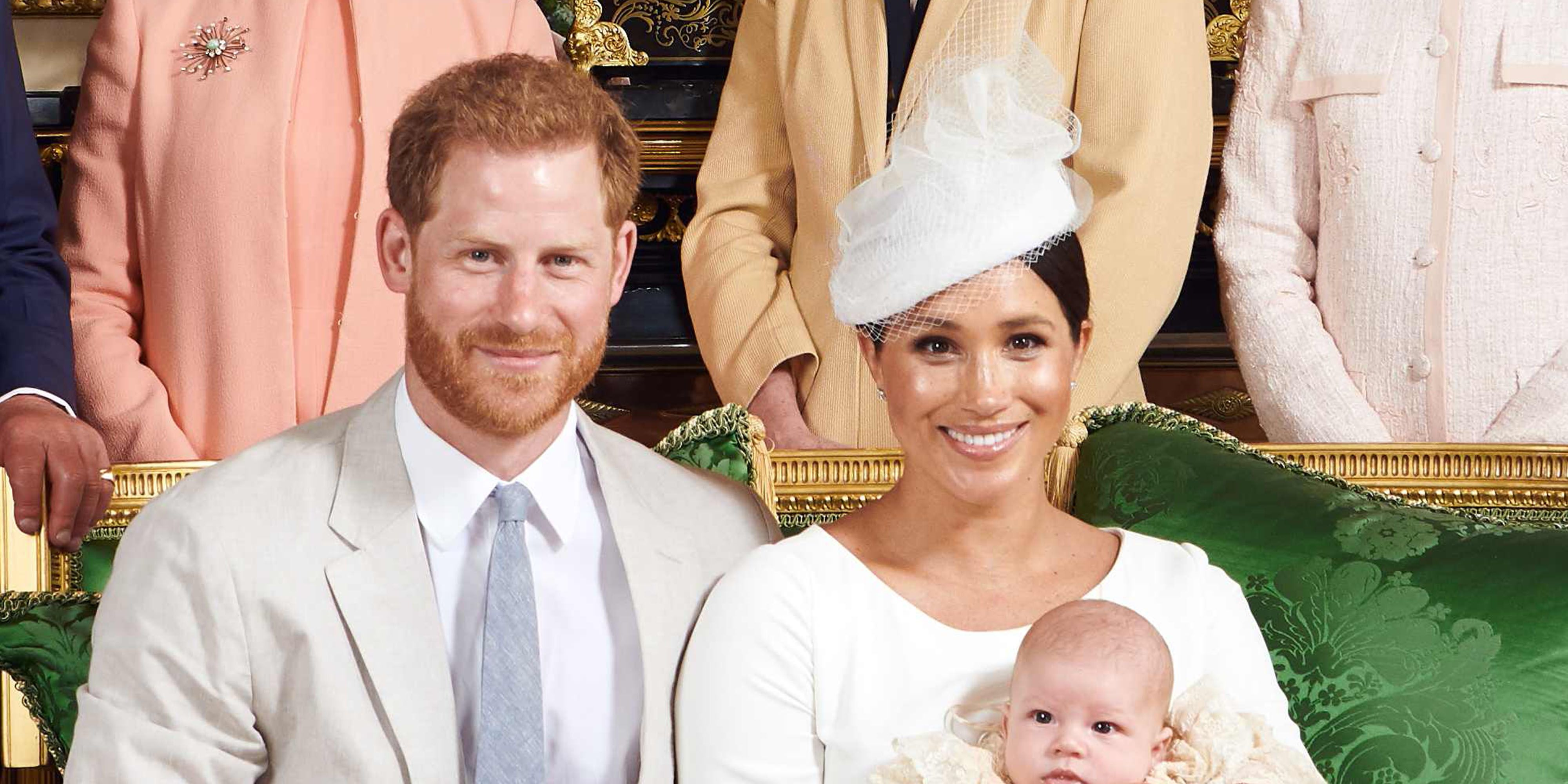 Meghan Markle Looked Beautiful in White Dior for Archie's Christening