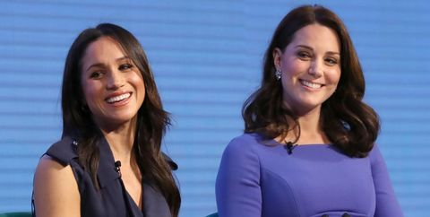 Meghan Markle and the Duchess of Cambridge