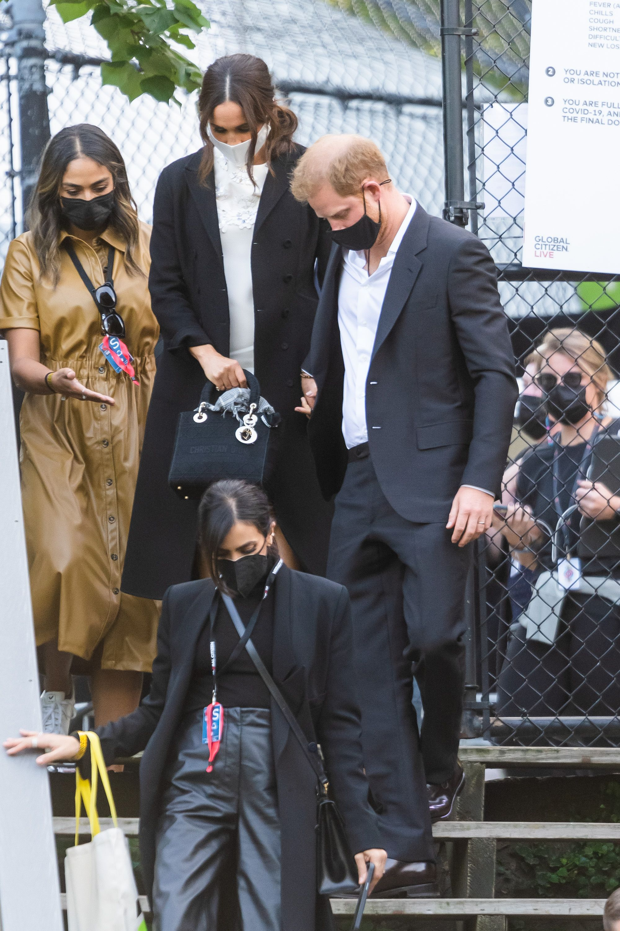 The Duchess of Sussex's Dior bag was a tribute to Princess Diana