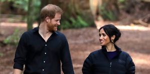 meghan markle prince harry tree walk