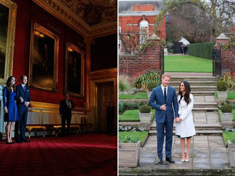 Royal engagement photos
