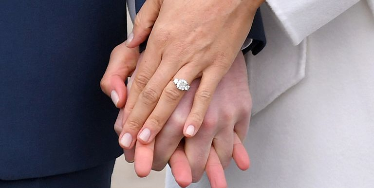 meghan markle engagement ring - Design Your Own Wedding Ring