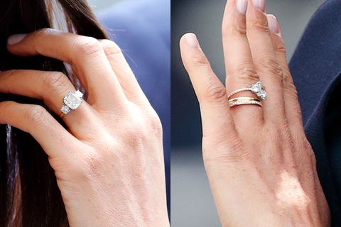 meghan markle engagement ring redesign eternity ring