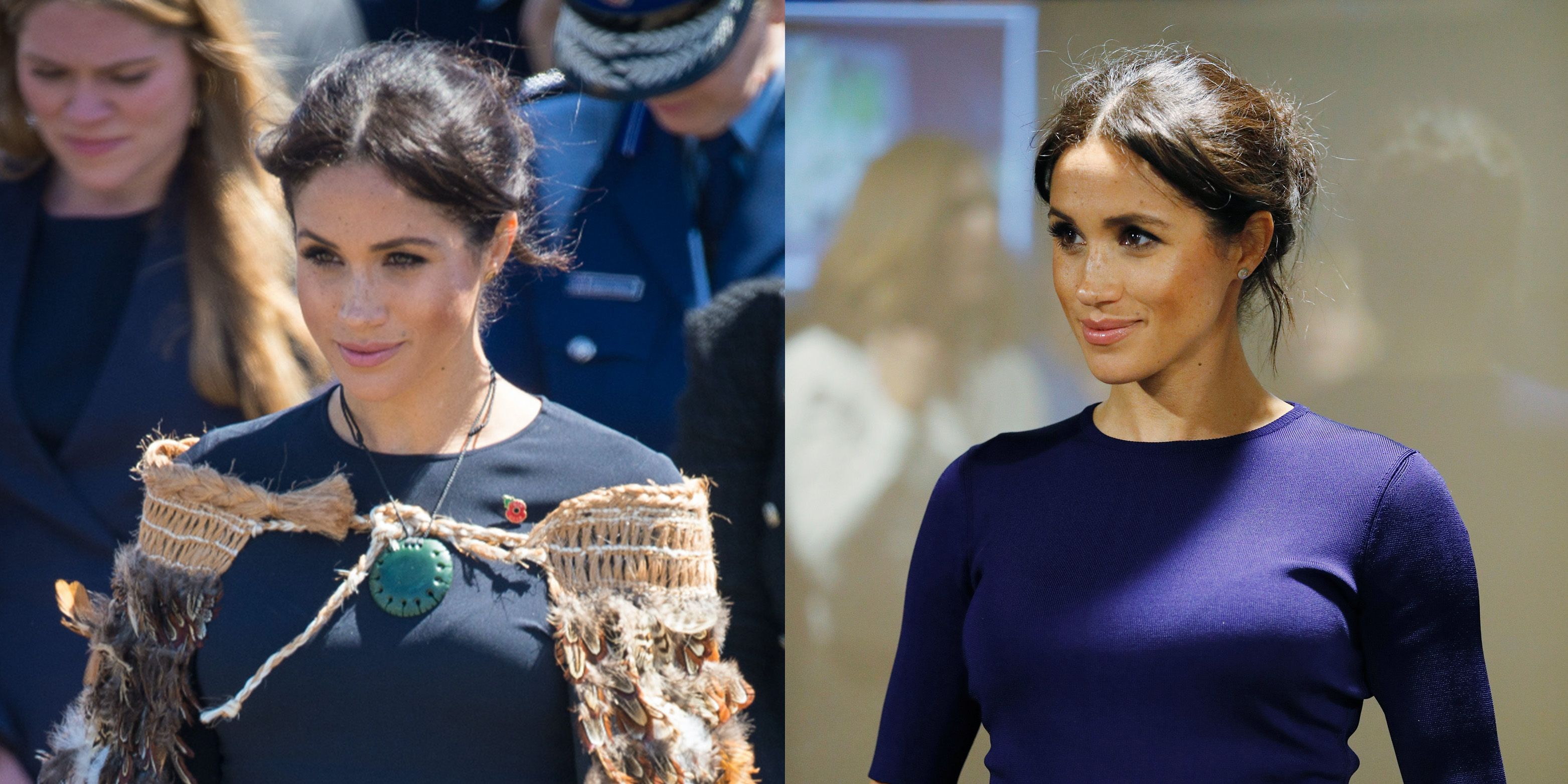 efdfb3520f Meghan Markle Enlists Her Two Wedding Dress Designers for Her Final Royal  Tour Looks