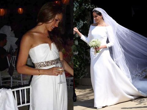 The Best Meghan Markle Wedding Dress Second