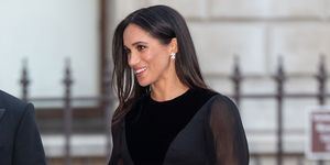 Meghan Markle black Givenchy dress