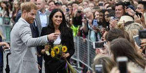 Meghan Markle flowers