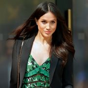 london, united kingdom   april 21 embargoed for publication in uk newspapers until 24 hours after create date and time meghan markle attends an invictus games reception at australia house on april 21, 2018 in london, england photo by max mumbyindigogetty images