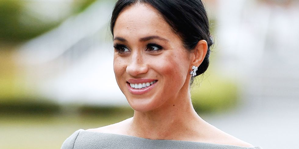 Meghan Markle Has Been Doing Her Own Makeup While on Tour in Ireland