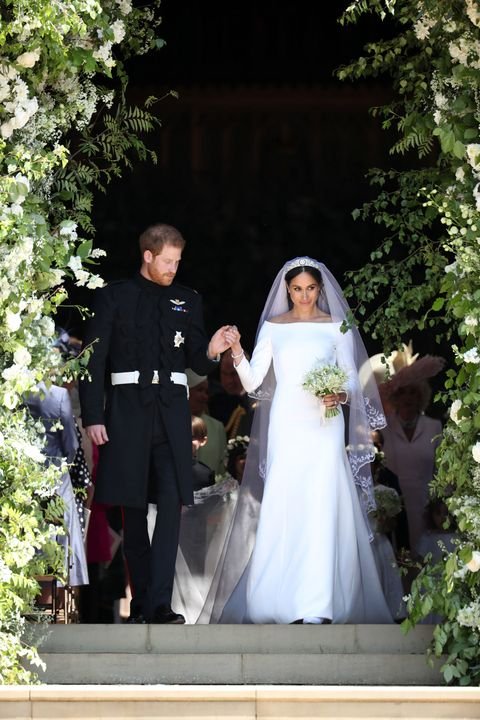 Meghan Markle Wears Givenchy Gown to Royal Wedding — Princess Meghan ...