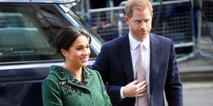 Meghan Markle wearing green coat in London