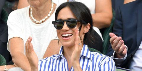941dd67cff8 Meghan Markle Wasn t Allowed to Wear Her Hat at Wimbledon 2018 ...