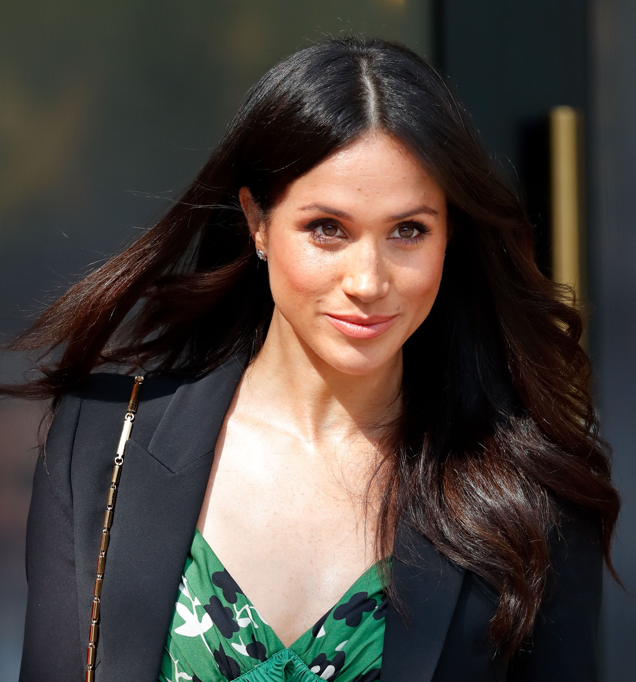 meghan markle in green