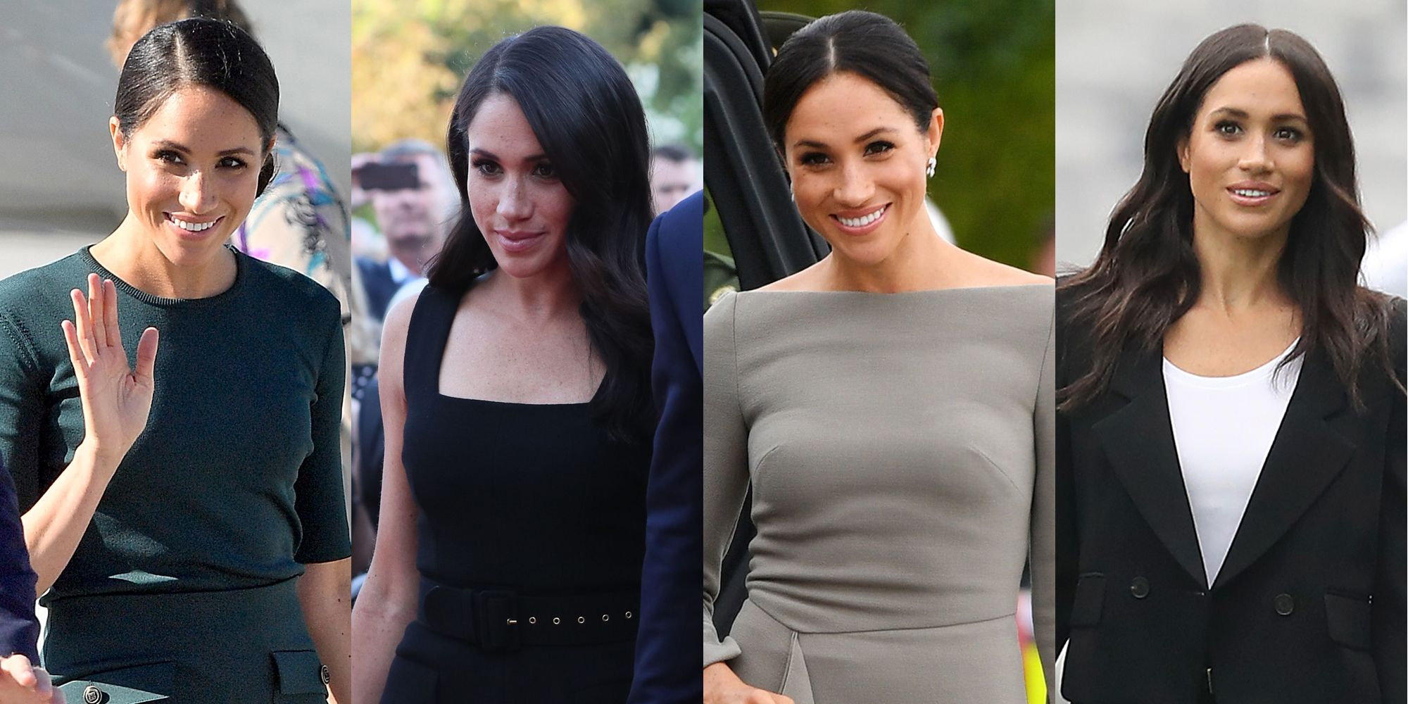 Meghan Markle Wore 4 Outfits Worth Over $40K on Her First Royal Tour