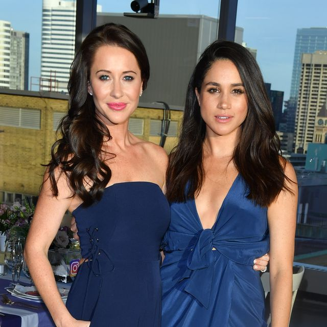 meghan markle's best friend, jessica mulroney shown here together, caught up in race row and accused of privileged behaviour