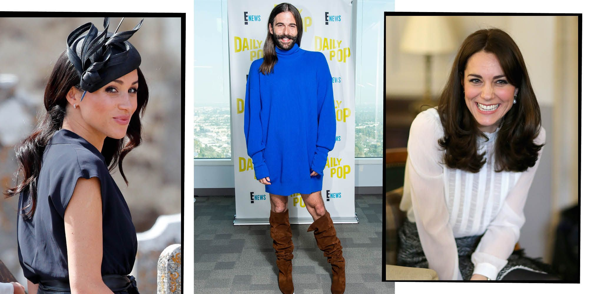 Meghan Markle, Jonathan van ness, Kate Middleton