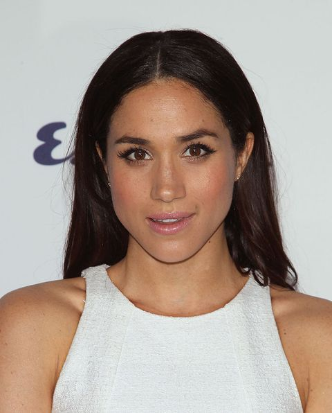 new york, ny   may 15  actress meghan markle from suits attends the 2014 nbcuniversal cable entertainment upfronts  at the jacob k javits convention center on may 15, 2014 in new york city  photo by jim spellmanwireimage
