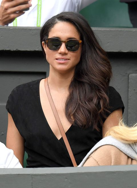 london, england   july 04  meghan markle attends day eight of the wimbledon tennis championships at wimbledon on july 04, 2016 in london, england  photo by karwai tangwireimage