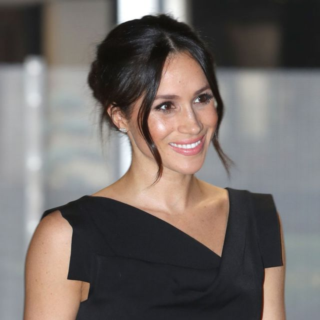 london, england   april 19  meghan markle attends the womens empowerment reception hosted by foreign secretary boris johnson during the commonwealth heads of government meeting at the royal aeronautical society on april 19, 2018 in london, england photo by chris jackson   wpa poolgetty images