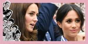 Meghan Markle en Kate Middleton