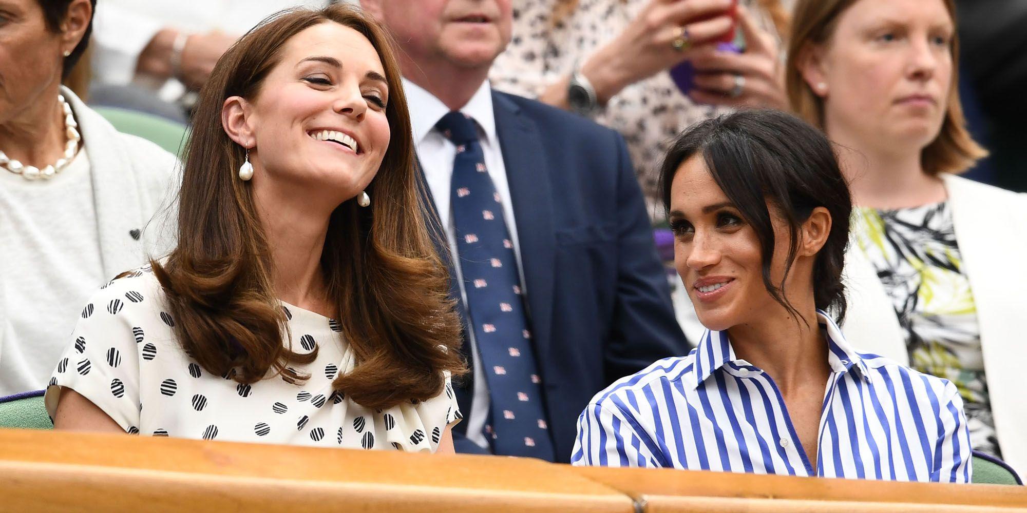 Meghan Markle & Kate Middleton @ Wimbledon 2018