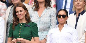 Meghan Markle, Kate Middleton & Pippa Middleton went to Wimbledon