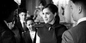 Meghan Markle op Buckingham Palace voor laatste royal engagement