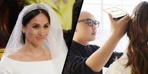 Meghan's royal wedding make-up artist, Daniel Martin