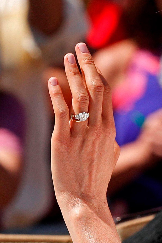 This Is Meghan Markle S Wedding Nail Polish Meghan Markle Royal
