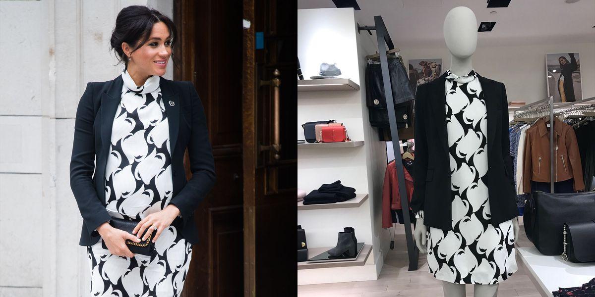 Bloomingdale S Dresses Mannequin Like Meghan Markle