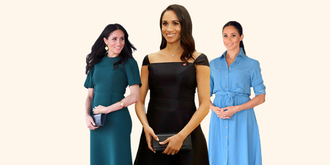 5f6700c0153 Best Meghan Markle Pregnant Style Looks - Princess Meghan Maternity ...