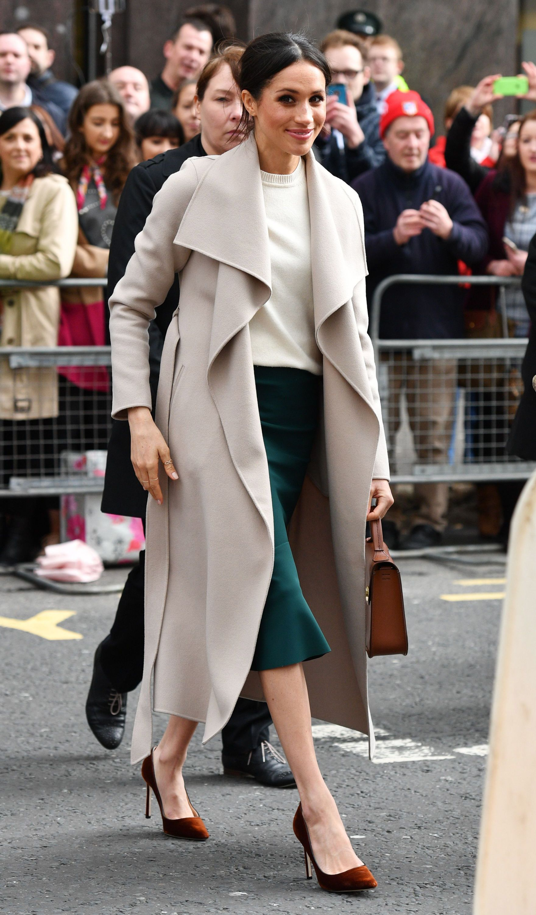 bc7c1215ed652 Meghan Markle's Favorite Shoes - 8 Shoe Brands That the Duchess of Sussex  Wears Regularly